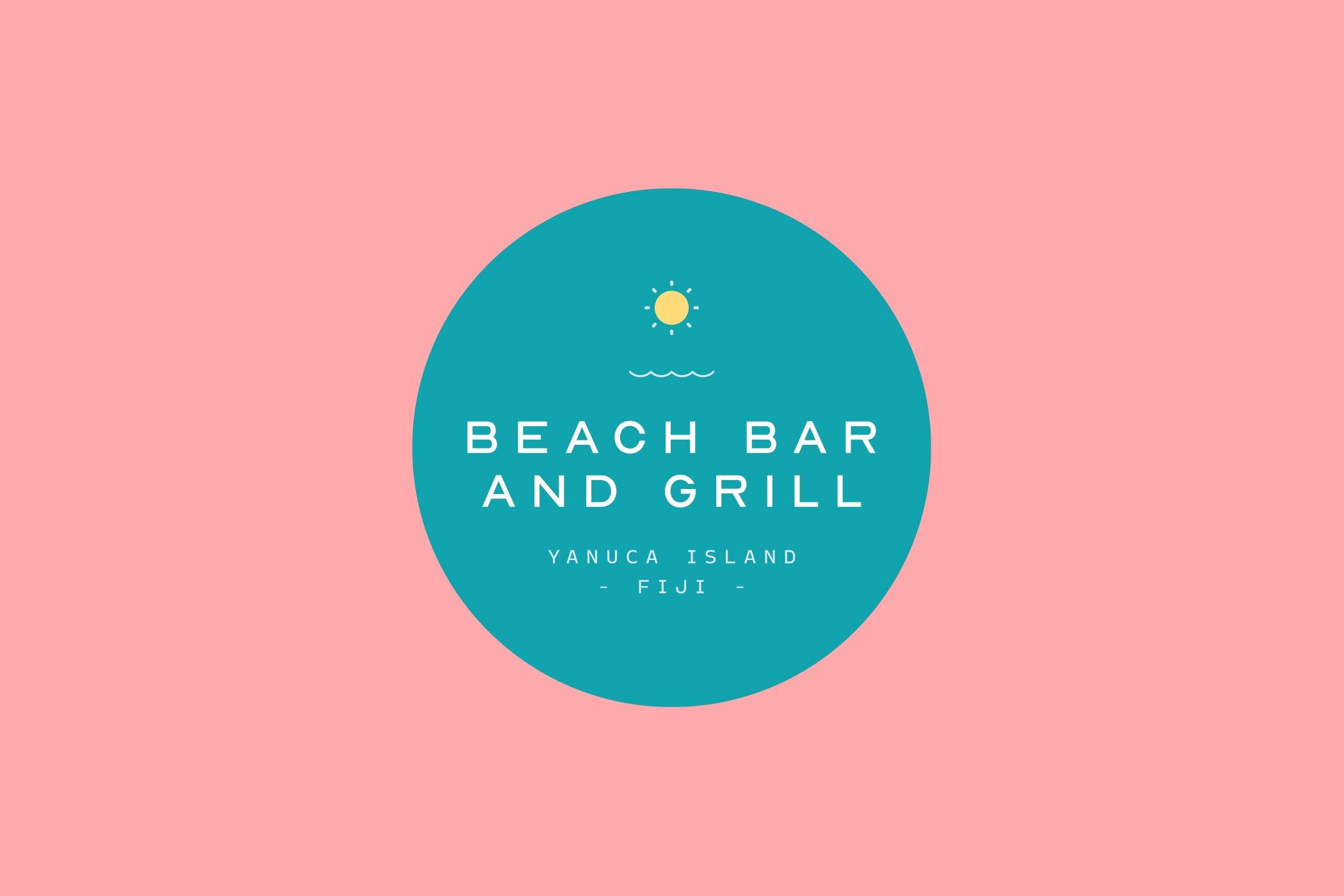 Beach Bar and Grill - Logo
