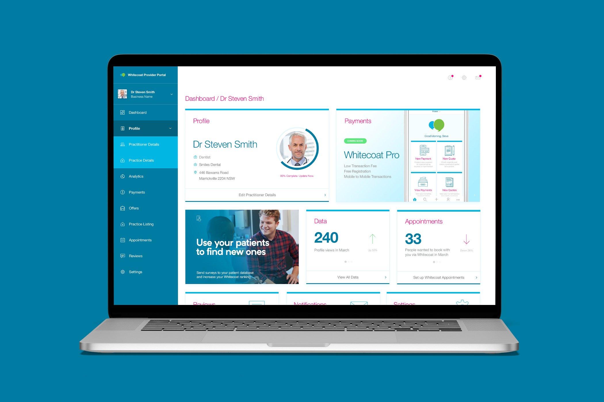 Whitecoat Provider Portal